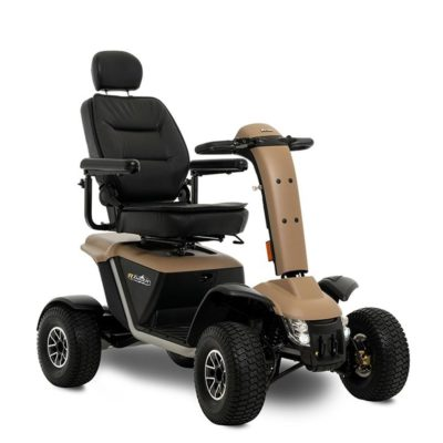 Pride Ranger 8MPH Mobility Scooter Brown tan
