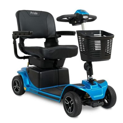 Pride Revo 2.0 Transportable Mobility Scooter Blue