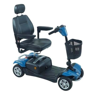 Rascal Vista DX Transportable Mobility Scooter Blue