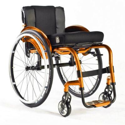Sunrise Quickie Argon 2 Active User Wheelchair Orange