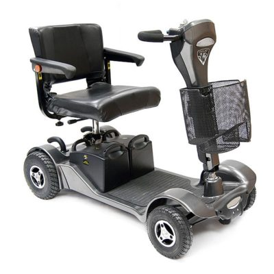 Sunrise Sterling Sapphire 2 Transportable Mobility Scooter Grey silver
