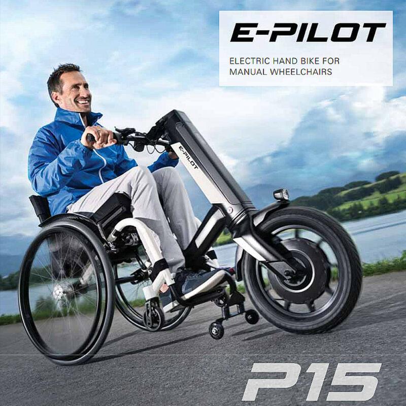 Invacare, Alber E-Pilot powered assistance