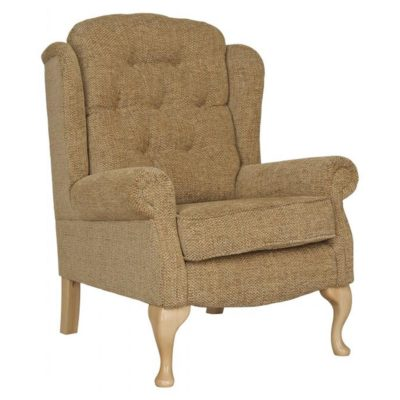 Woburn Fireside Chair Light Brown In House