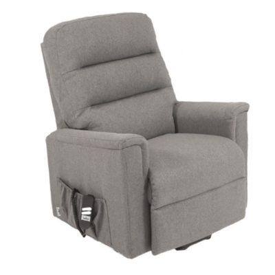 OR Duke Quartz Grey Reclining Chair