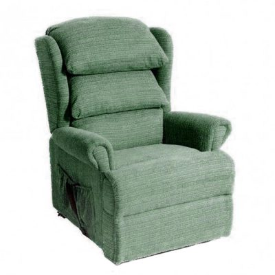 OR Admiral Waterfall Eden Green Reclining Chair