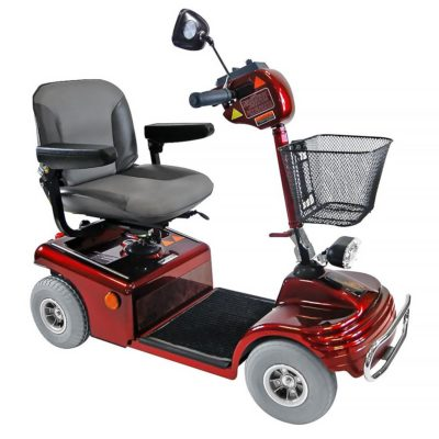 hoprider Sovereign 4 Mobility Scooter Red