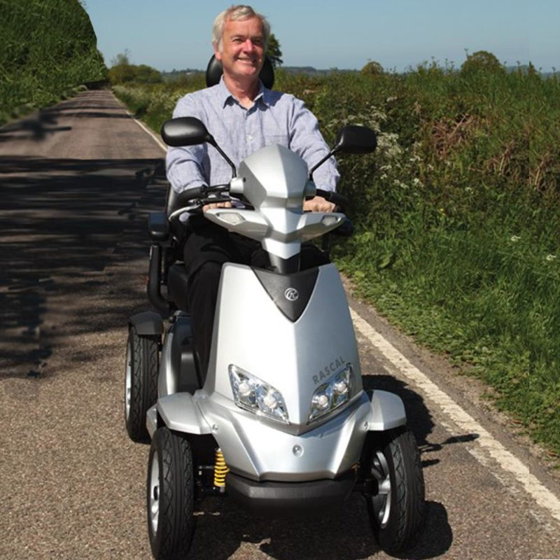 Off road mobility scooters