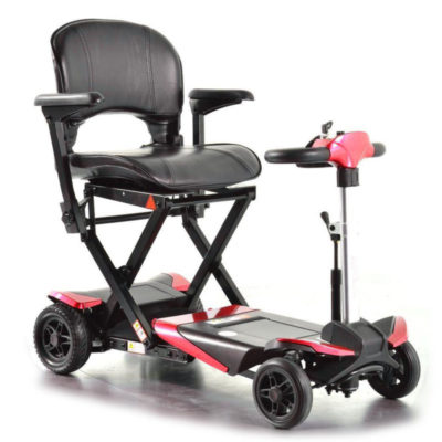 Smarti-folding-scooter-red-front