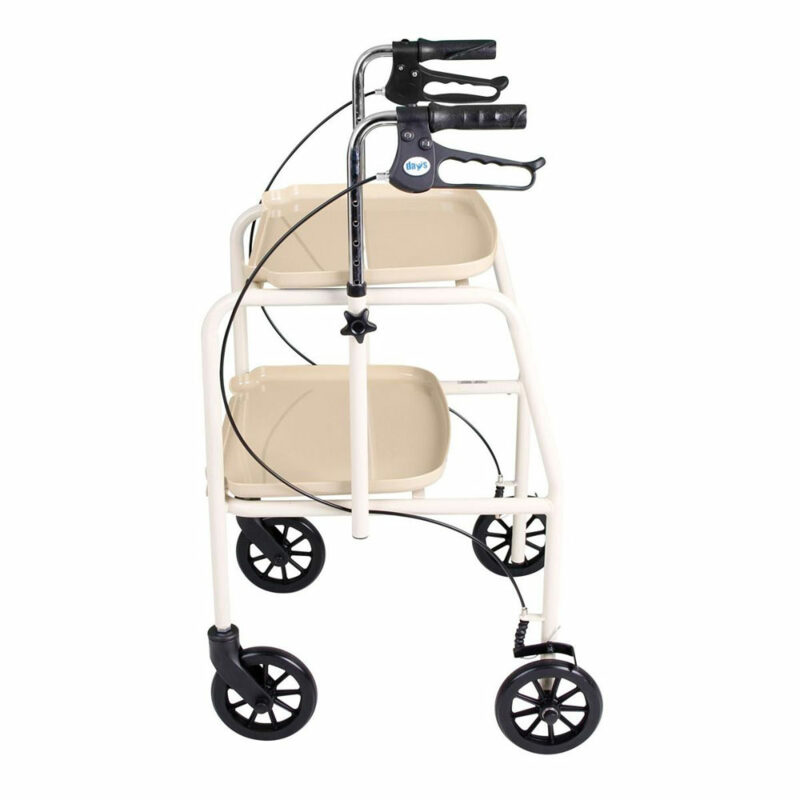Days, Walker Trolley With Brakes