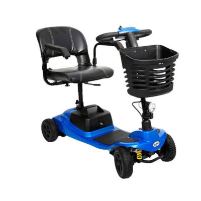 a blue komfi rider vogue lithilite scooter