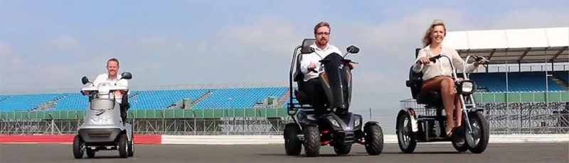 Can you use mobility scooters on the road