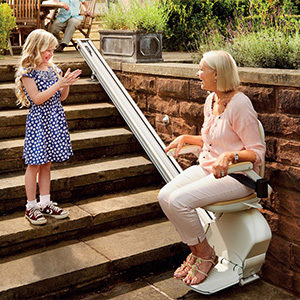 outdoor stairlifts