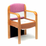 Roma, Royale Wooden Commode Chair