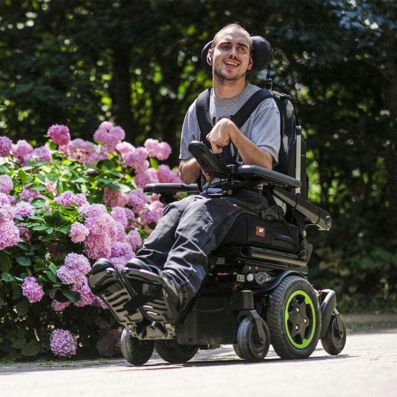 Sunrise, Q500M Electric Wheelchair